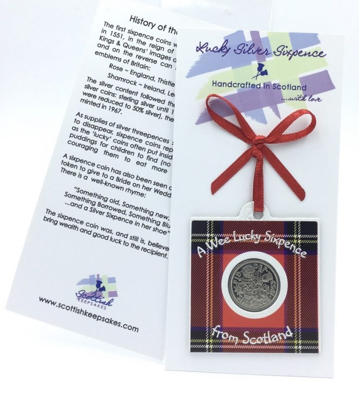Royal Stewart Wee Lucky Sixpence