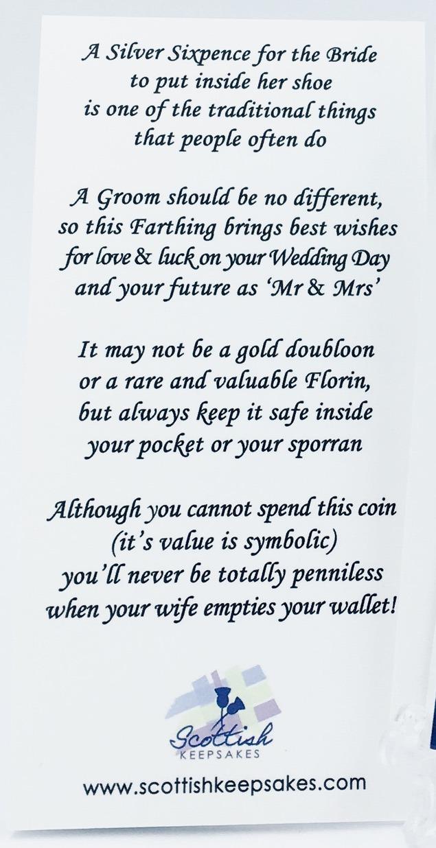 Farthing text