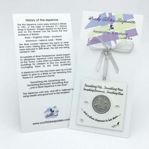Lucky Sixpence for the Bride