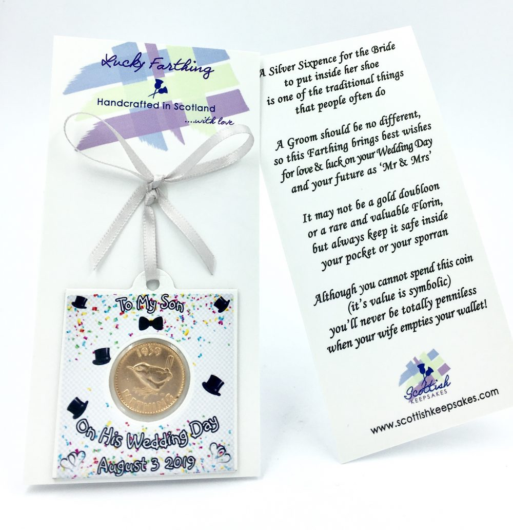 BABY SHOWER PRESENT//GIFT FOR A GIRL A LUCKY SIXPENCE /& POEM IDEAL KEEPSAKE