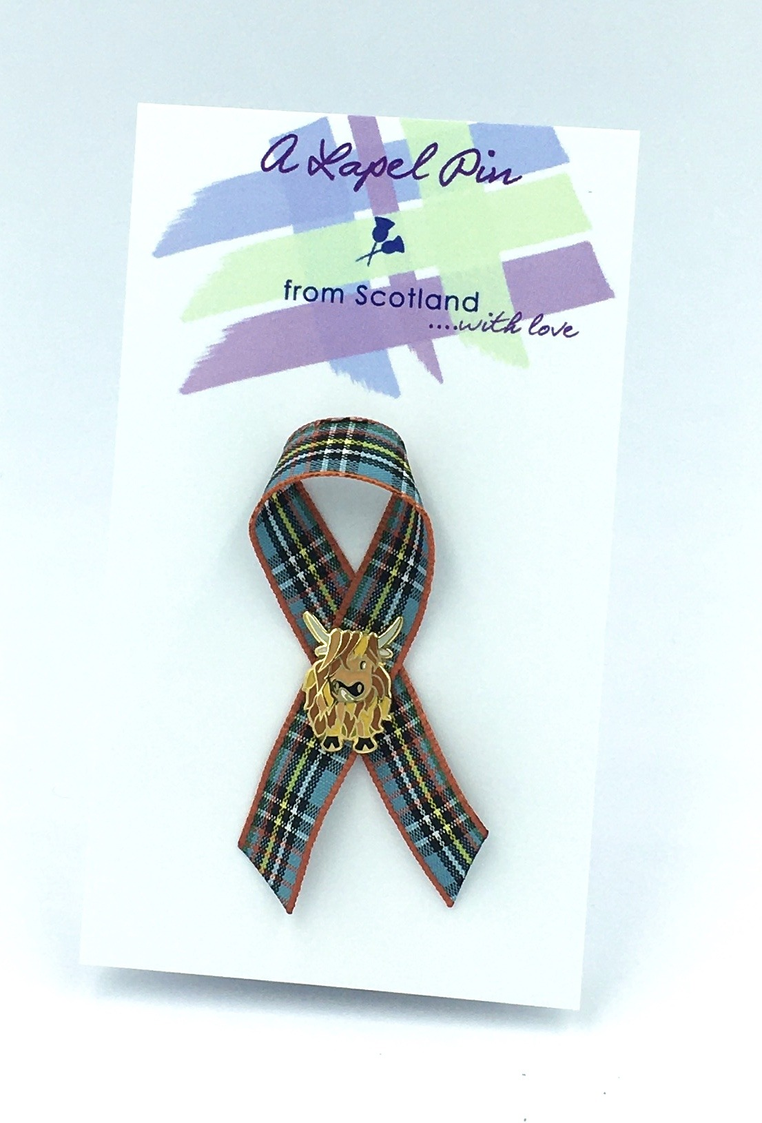 Highland Cow lapel pin (small)