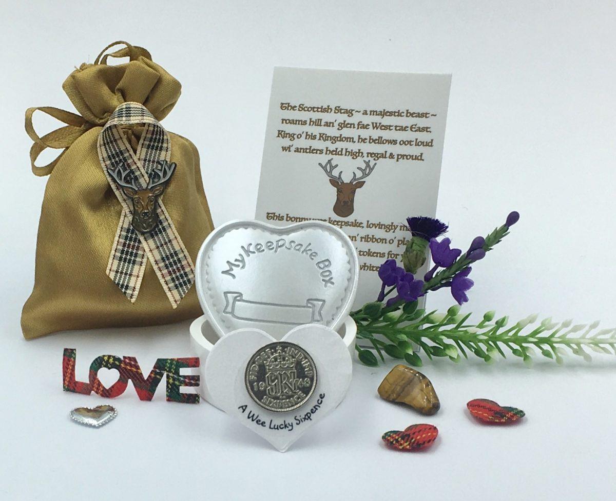 Stag Keepsake Gift Set
