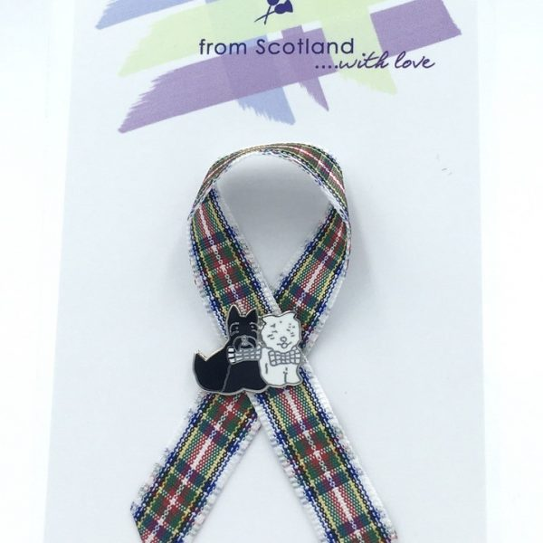 Westie Scottie Lapel Pin